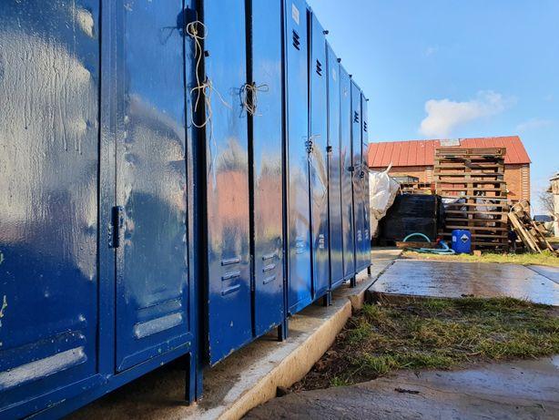 Szafki BHP szafy metalowe stan jak na foto meble magazynowanie ŚOR BHP