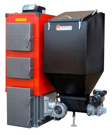 15 kW Kociol do 95 m2 Piec z PODAJNIKIEM Kotly na EKOGROSZEK 12 13 14