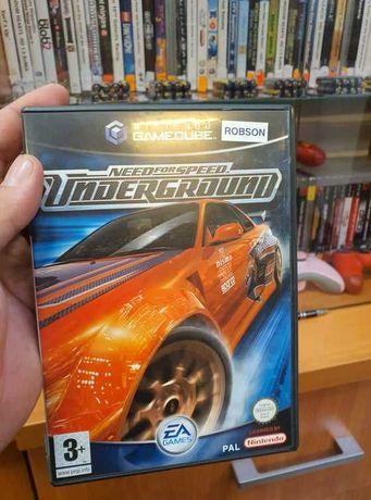 Need for Speed UNDERGROUND Nintendo Gamecube 100% Sprawna UNIKAT