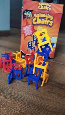 Gra spadające Krzesełka balansujące  jak mistakos