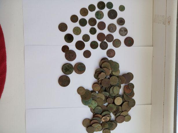 Монеты Австро-Венгрии, Польши,периода Российской Империи-180шт+