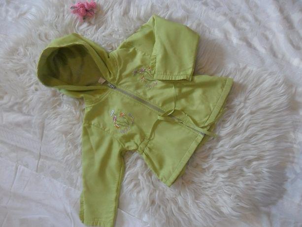 Курточка на девочку на флисе 2-4 года.