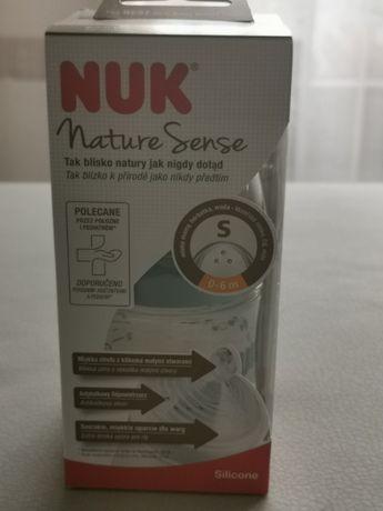 Butelka Nuk Nature Sense niemowlę 0-6 m-cy Nowa!