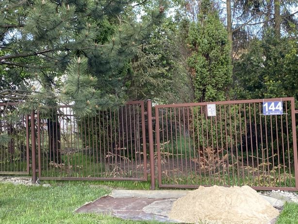 Nowa niższa cena!! Ogrodzenie, brama, furtka- już zdemontowane