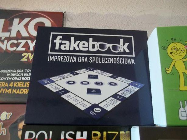 Gra imprezowa, fakebook, prezent na urodziny