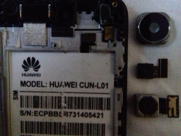 2 lentes NOVAS do telemóvel Huawei CUN-L01 + Vidro protetor traseiro