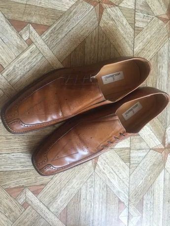 Муж. Туфли Angel infantes (Italy) 44 кожа, leather