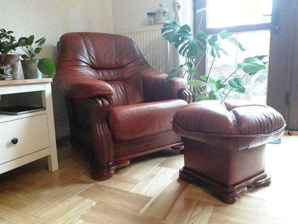 ekskluzywny fotel i sofa