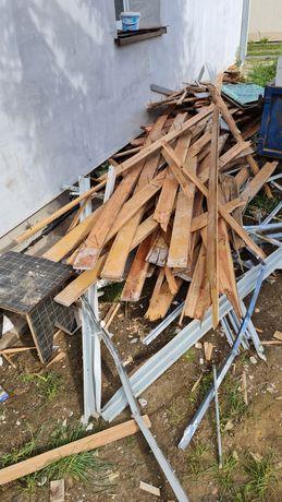 Oddam drewno na opał ze starej podłogi