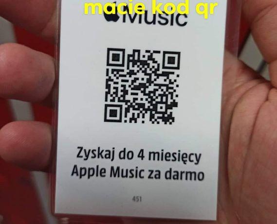 4miesiace Apple music free!