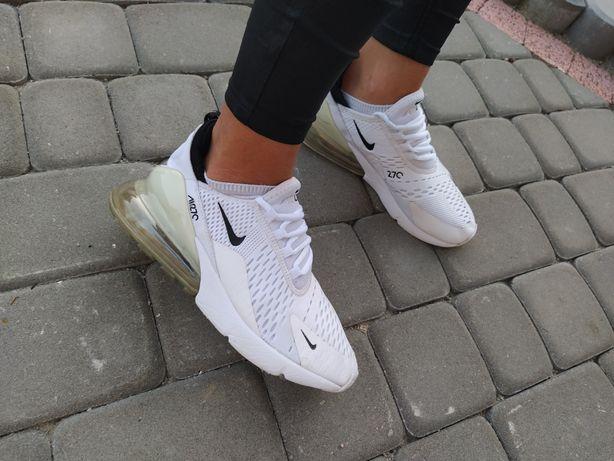 Nike Air Maxy 270 oryginalne adidasy buty sportowe damskie r.39 białe