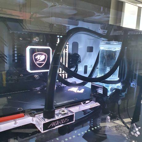 Видеокарта AORUS GeForce RTX 2080 SUPER Waterforce WB 8G