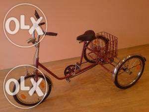 Велосипед трехколесный для инвалидов производство СССР