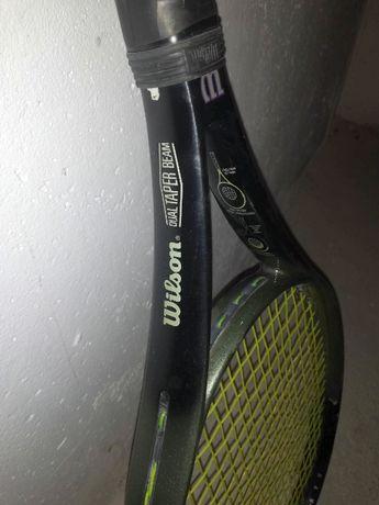 Rakiet tenisowa Wilson 2.7 si dual traper beam, okazja, futerał gratis