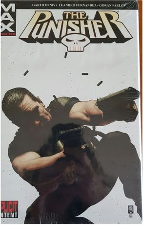 Punisher MAX vol.3 HC ang oversize NOWY