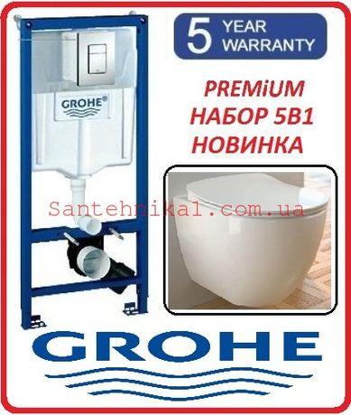 Инсталляция GROHE Rapid SL 38772001 + Унитаз CREAVIT Soft-Close АКЦИЯ!