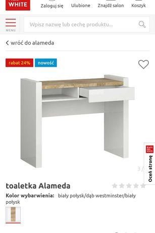 Toaletka/ biurko kolekcja Alameda BRW