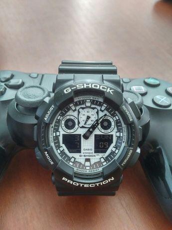 Casio g-shock ga-100 black/white