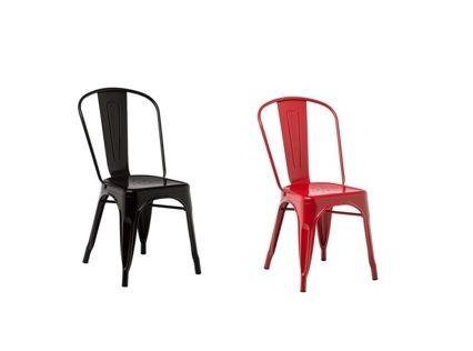Cadeira MARA antracite ou vermelha