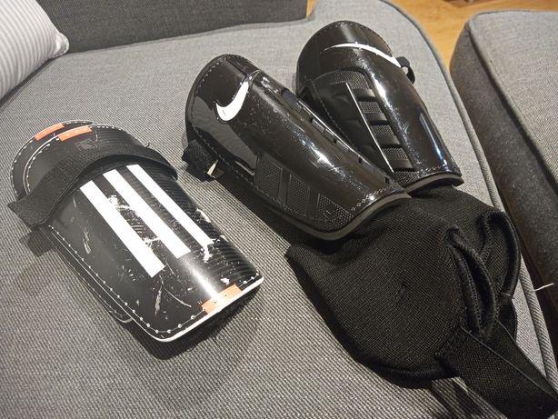 Ochraniacze nike adidas dla dziecka 8-10 lat
