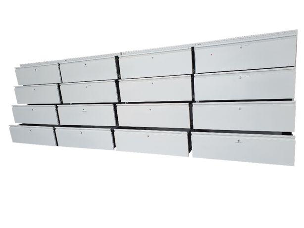 Szafy 400 cm z 16 szufladami stół warsztatowy zabudowa garaż warsztat