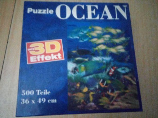 Puzzle 500 3D Ocean