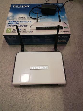 Modem/router Wi-Fi TP-link 300mbps ADSL2+