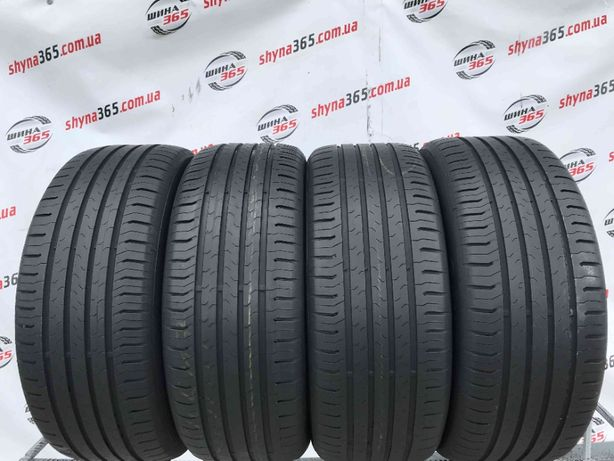 225/55 R17 CONTINENTAL CONTIECOCONTACT 5 (5,5-6mm) Шини Літо Склад