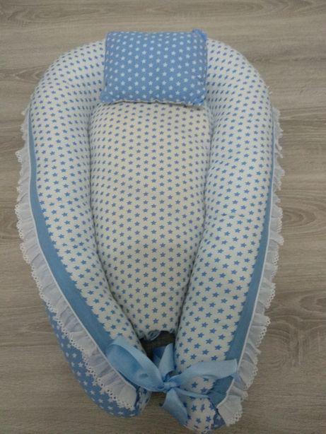 Ninho bebé azul