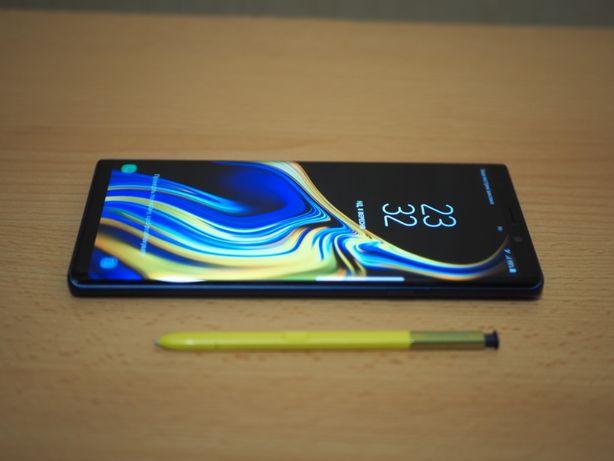 Смартфон Samsung Galaxy Note 9 6/128GB Ocean Blue Официальный.