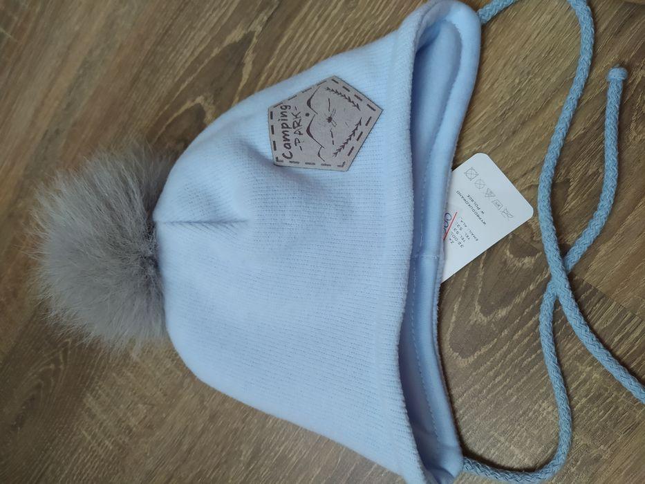 Шапочка, шапка теплая зима/ранняя весна на мальчика, 42-44 р. Одесса - изображение 1