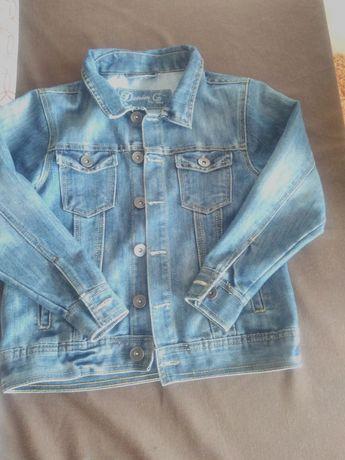 kurtka dżinsowa 134 rozmiar