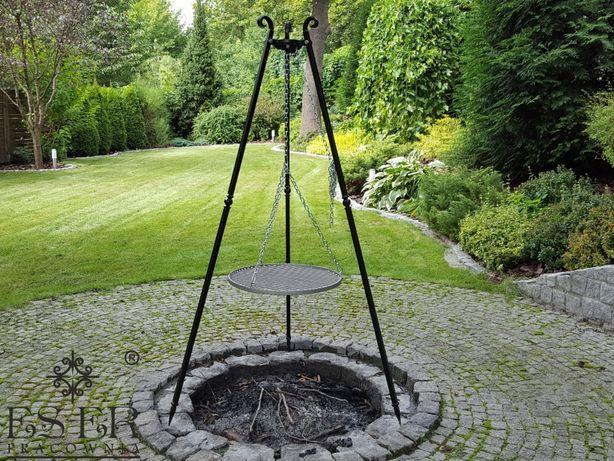 Grill ogrodowy - ogniskowy Olaf z rusztem stalowym 50cm ES-ER