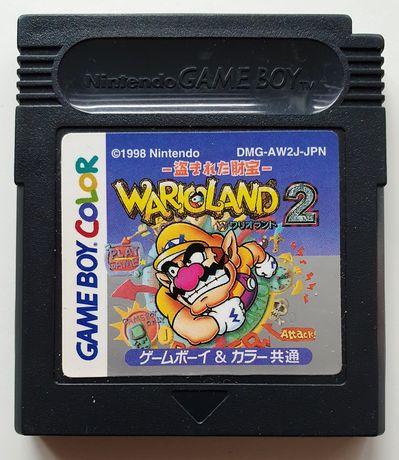 Gra Nintendo GameBoy Game Boy COLOR WARIOLAND 2 Wario Land II