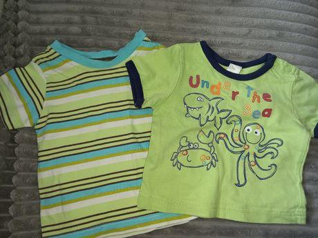 Bluzeczki, koszulki na lato 3 m-ce