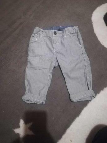 Eleganckie spodnie h&m 68/74