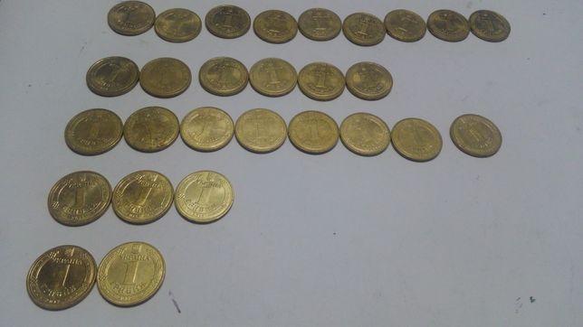 Ювілейні монети України - 1 гривня (юбилей)