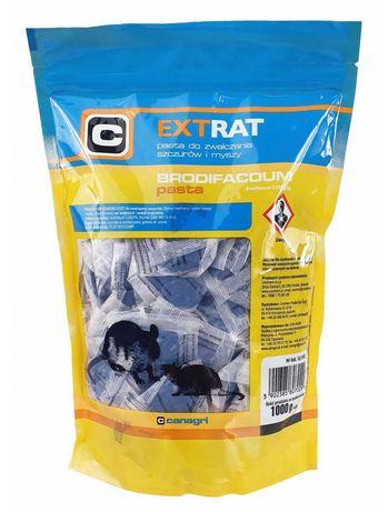 EXTRAT – brodifakum pasta na szczury i myszy 1 kg