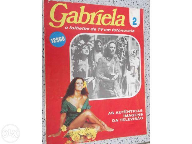 """Colecção de fascículos """"Gabriela"""""""