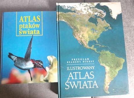 Ilustrowany Atlas Świata + Atlas Ptaków Świata