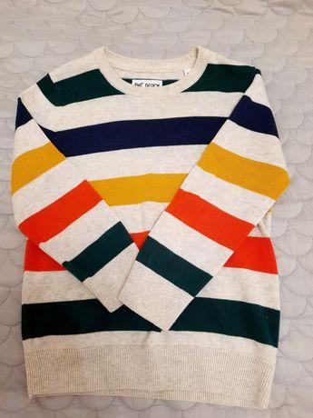 Ubrania chłopięce 116 (sweterki, bluzki, spodnie)