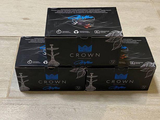 Уголь Crown, 72 штуки, ребристый