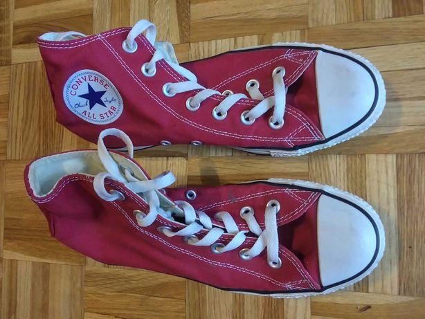 Buty converse czerwone All Star 5 1/2 38,5
