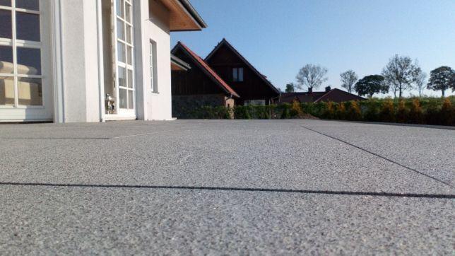 Płyty Granitowe Taras Tarasowe GRANIT Płytki Schody 60x60x2cm Płomień