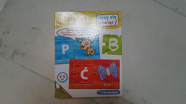 Clementoni alfabet uczę się bawiąc wiek3-5 lat