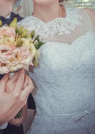Цена снижена!свадебное платье в греческом стиле
