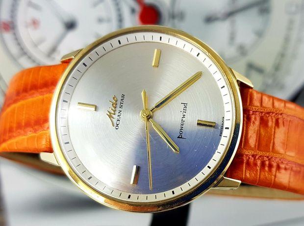 Złoty zegarek męski Mido Swiss OceanStar Unikat Automatic XL złoto 14