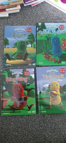 Zestaw do nauki angielskiego dla dzieci DVD Baby Beetles Yellow House
