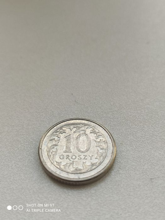 Продам коллекционных 10 (Groszy) - 2008г, Польскую монету! Каменец-Подольский - изображение 1