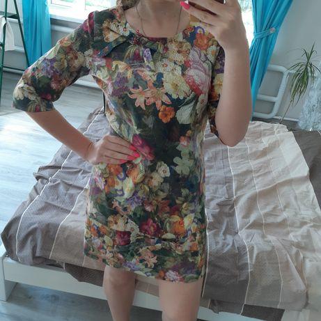 Женское прямое нарядное платье